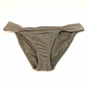 Victorias Secret Bikini Bottoms Size Medium Gray